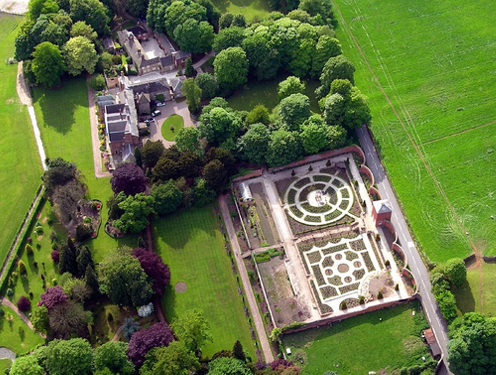 Pic of garden from above