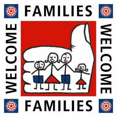 Families welcome logo